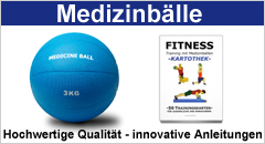 Medizinbälle und passende Übungen