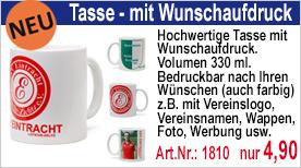 Tasse (330 ml) mit Wunschaufdruck