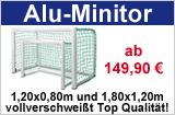 Hochwertiges Minitor aus Aluminium