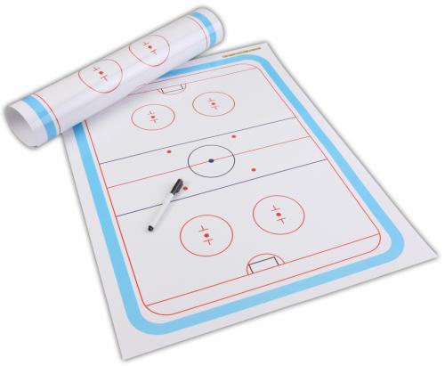Eishockey Taktikposter